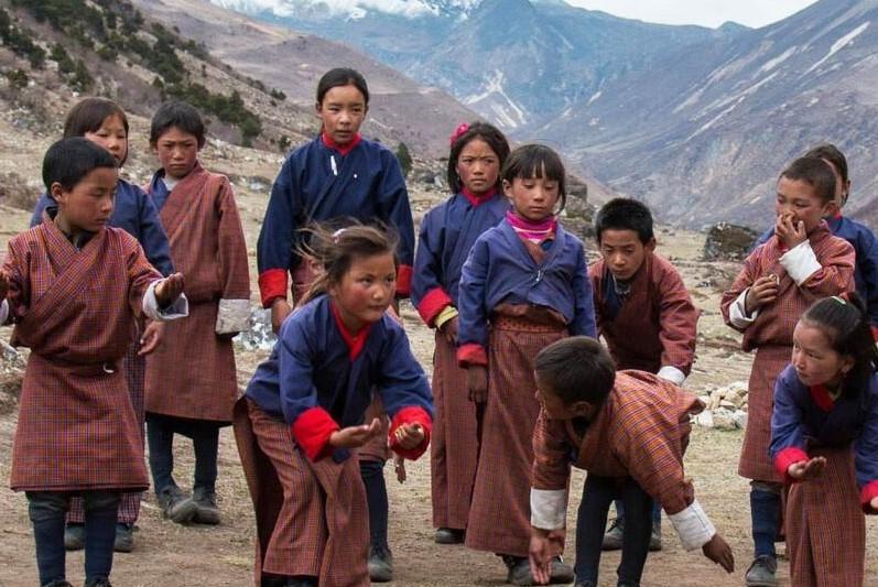 Bhutanese Kids