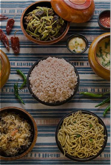 Bhutanese Foods